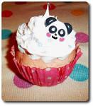 Panda Cupcake Paperweight