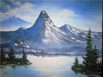 Mountain Blue by Leoneer