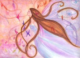 The Wind by Lorellyne