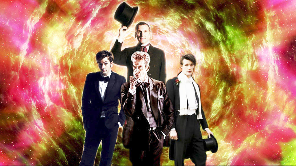 (Every Girl's Crazy For A) Sharp Dressed Time Lord by conjob1989
