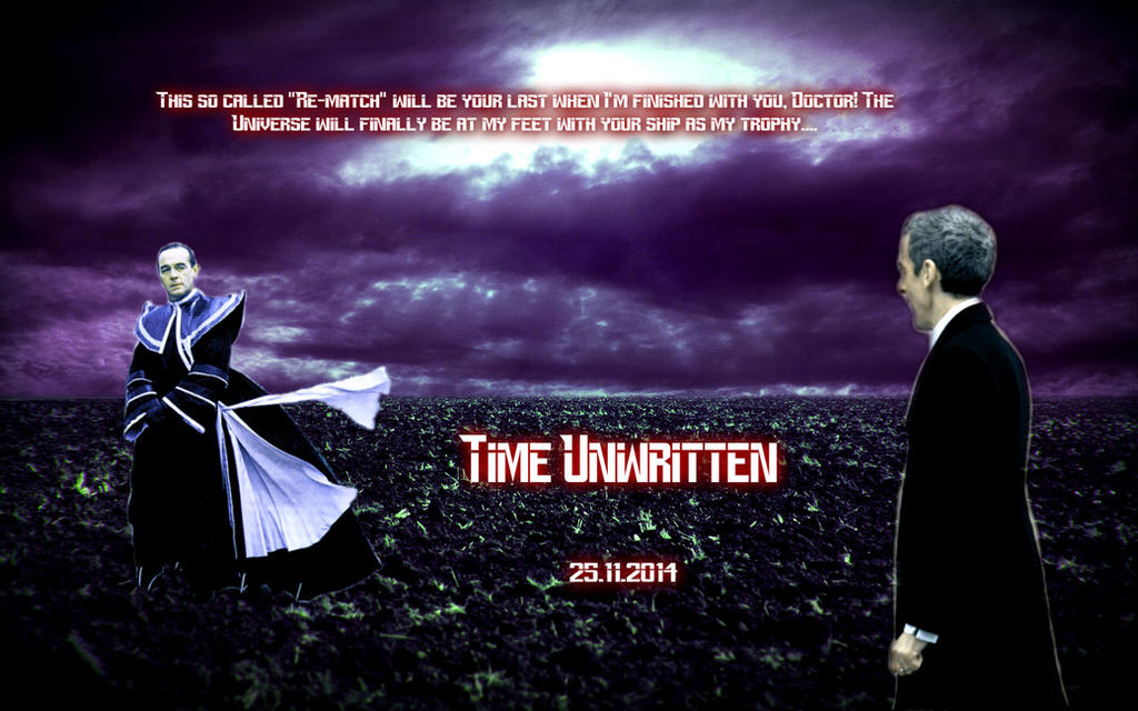Time Unwritten Teaser Poster 4 by conjob1989