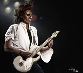 Keith Richards by DanielHovdahl