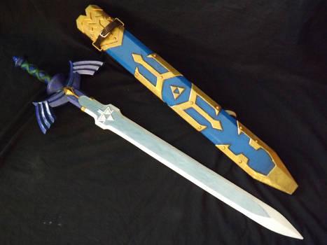 Master sword and Sheath Skyward Sword 02