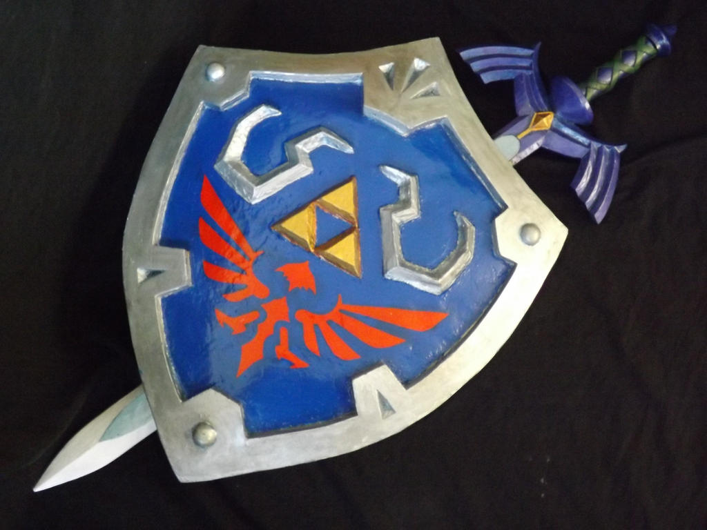 Master sword and Shield Skyward Sword 01 by DonnixProps