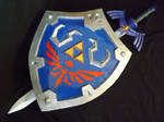Master sword and Shield Skyward Sword 01