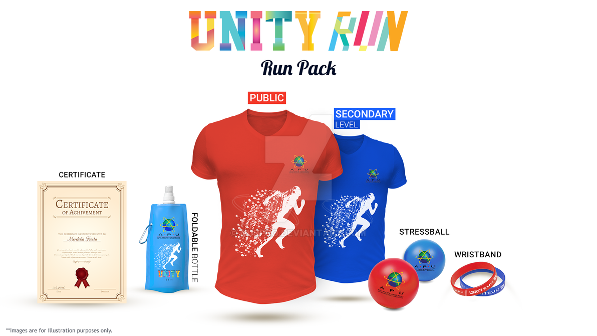 Marathon Run Pack by nubpro