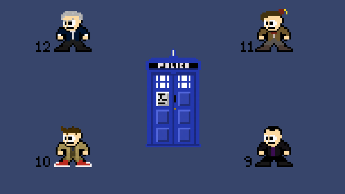 doctor who pixel wallpaper (2556x1440)blake-l on deviantart