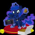 Retro Gamer Filly Luna