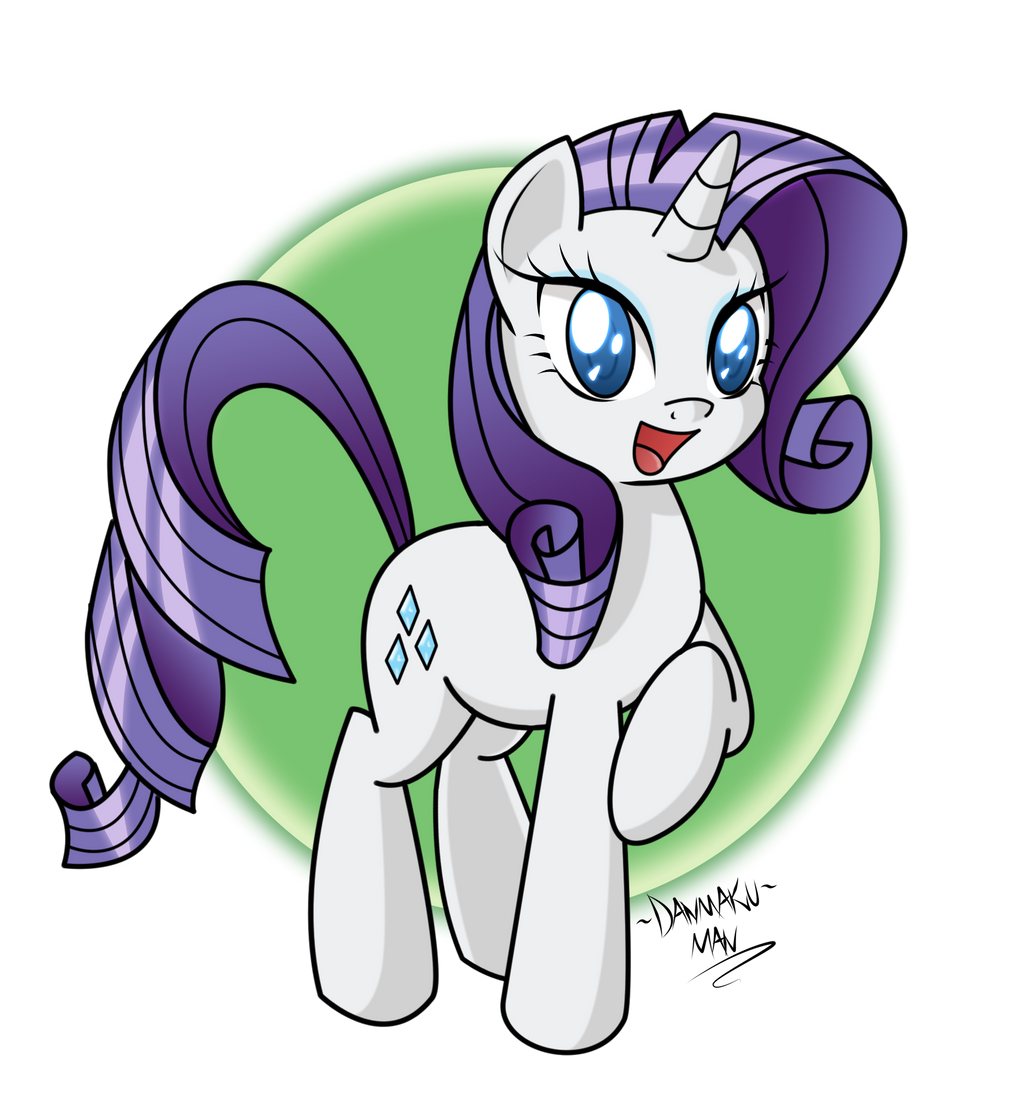 Smiling Rarity! by DANMAKUMAN
