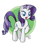 Smiling Rarity!