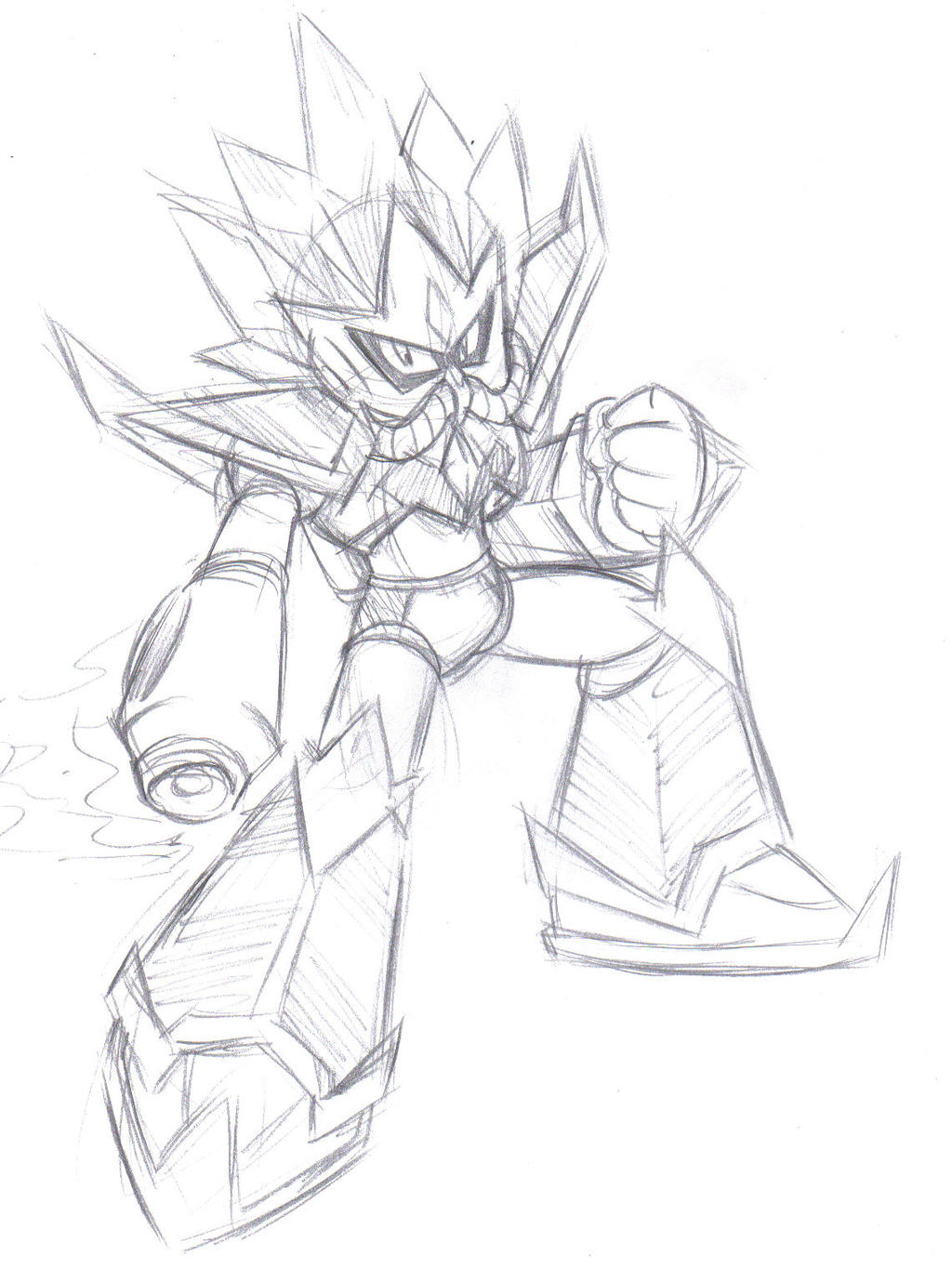 Megaman Master Robot Design by DANMAKUMAN