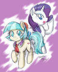 Coco Pommel And Rarity (Preview)