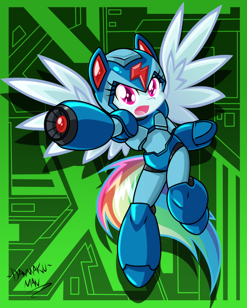 X Dash by DANMAKUMAN