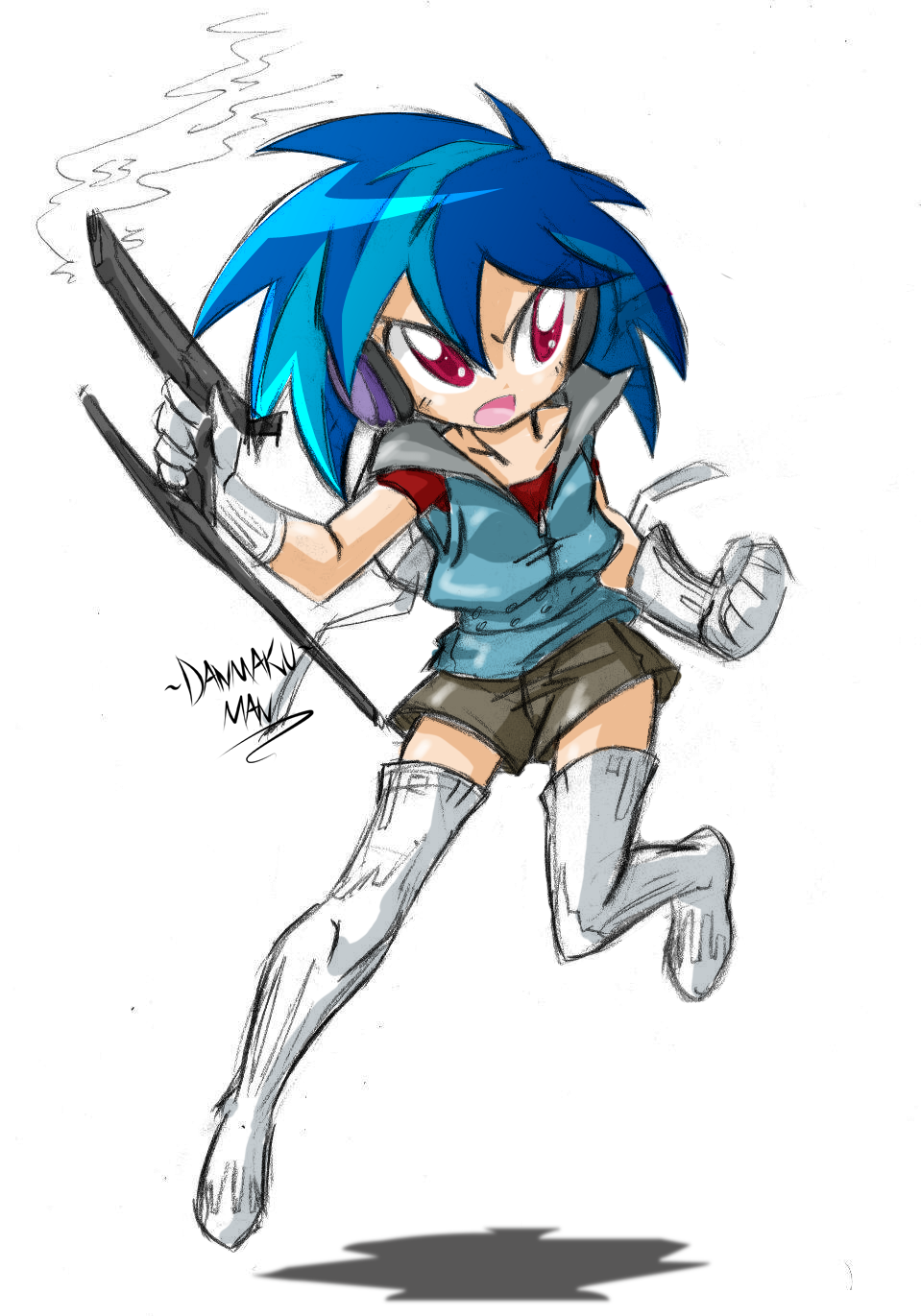 Just shoot and dodge!!! by DANMAKUMAN