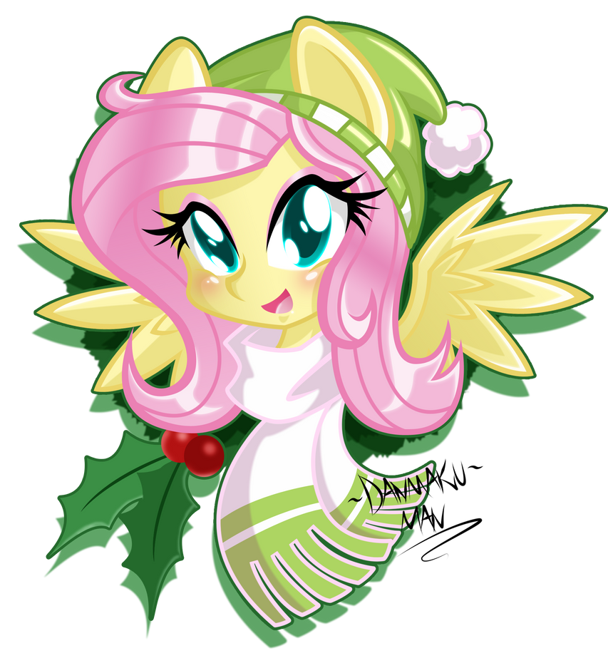 Holidays Special: Fluttershy by DANMAKUMAN