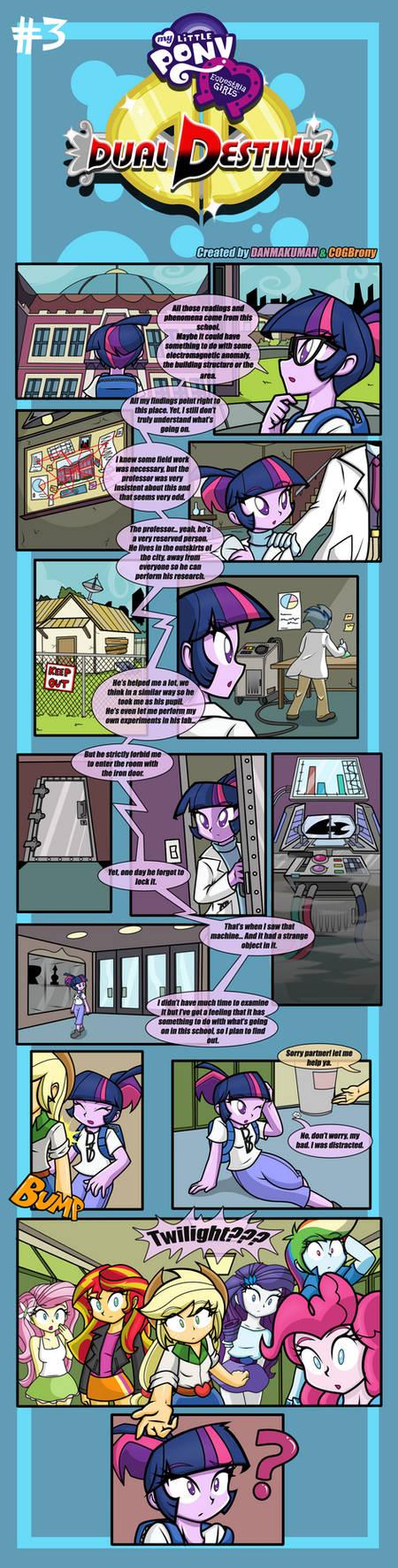 Equestria Girls: Dual Destiny Page #3
