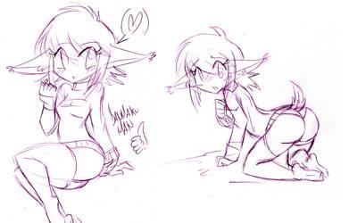 Moly (OC) doodles