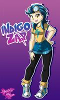 Commission: Indigo Zap