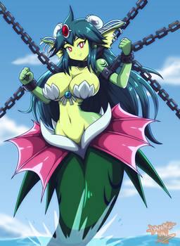Commission: Giga Mermaid