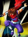 Strider Hiryu by DANMAKUMAN