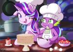 Commission: Friendship Baking
