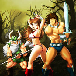 Golden Axe by DANMAKUMAN