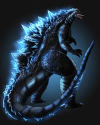 Godzilla by DANMAKUMAN