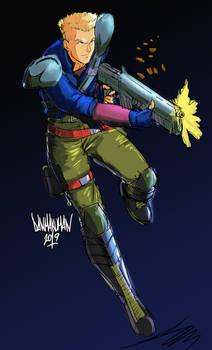 Ray Poward - Contra Hard Corps