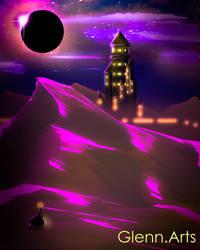 Purple Eclipse