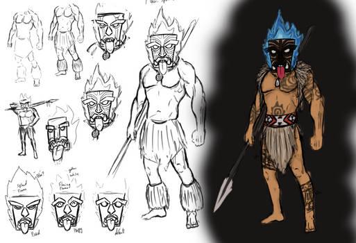 Maori Spirit Warrior (OC)