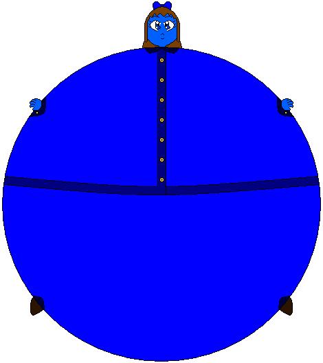 Violet Beauregarde Blueberry by ww07kid