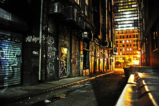 Dark Alley by Andrew-23