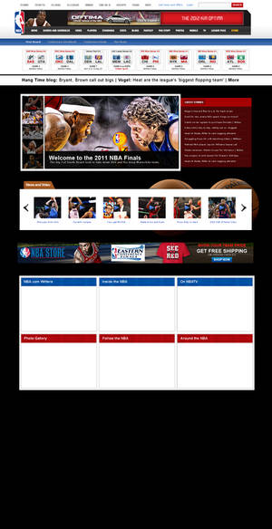 NBA.com Mockup