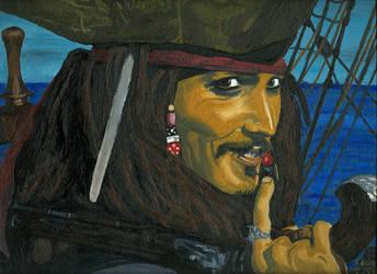 Captain Jack Sparrow by VeronikaDark