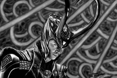 Loki (Thor) by VeronikaDark