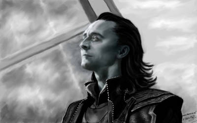 Loki (The Avengers) by VeronikaDark