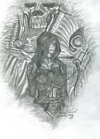 Daughter Sithis (DarkBrotherhood) by VeronikaDark