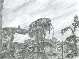 Morrowind (Siltstrider) by VeronikaDark