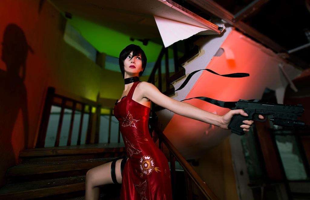 Ada Wong by AkinaGasai