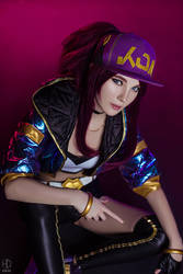 Akali K/DA Cosplay | League of Legends