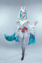 League of Legends | Spirit Blossom Ahri Cosplay