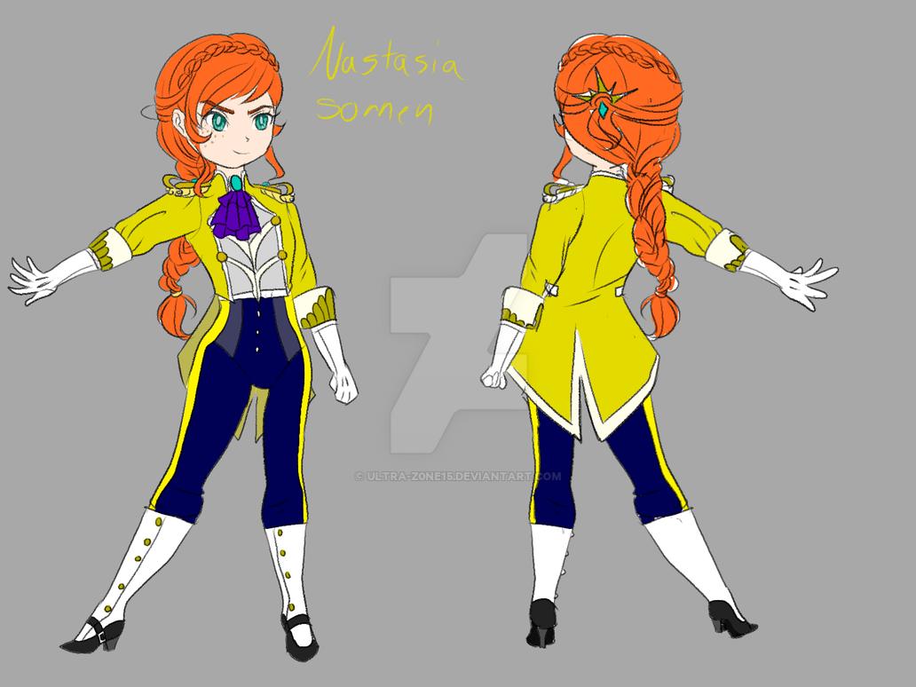 Nasatia Sonnen redesign by ULTRA-Z0NE15