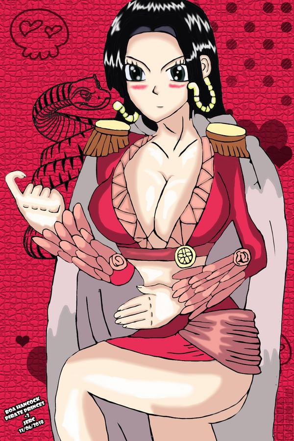 Boa hancock Pirate Princess by jhonedwardelric