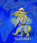 Custom D20 Character, Lizardfolk Wizard