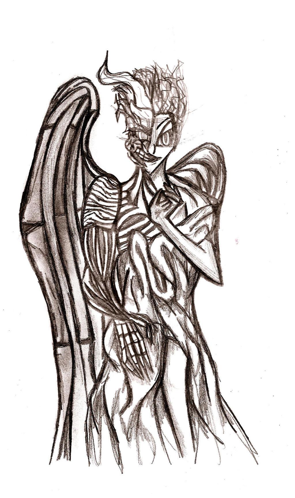 angel and demons drawings - photo #9