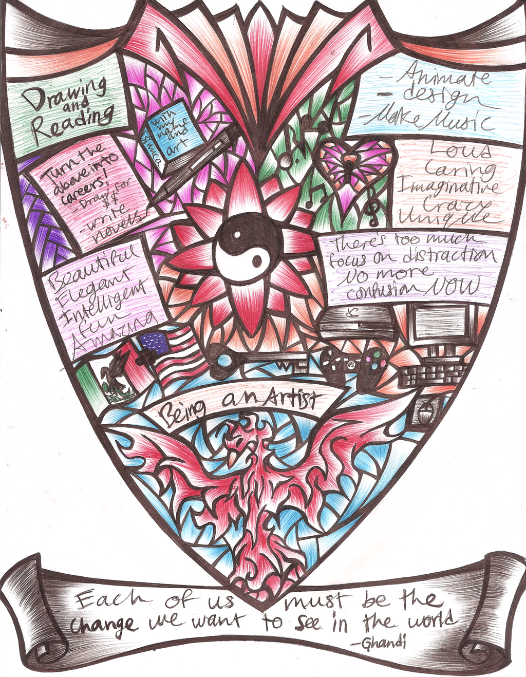 My Coat of Arms by RubyPheonix on DeviantArt