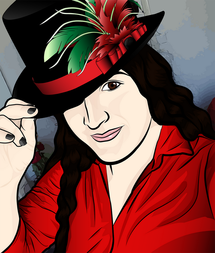 Archer Style Self Portrait by RubyPheonix