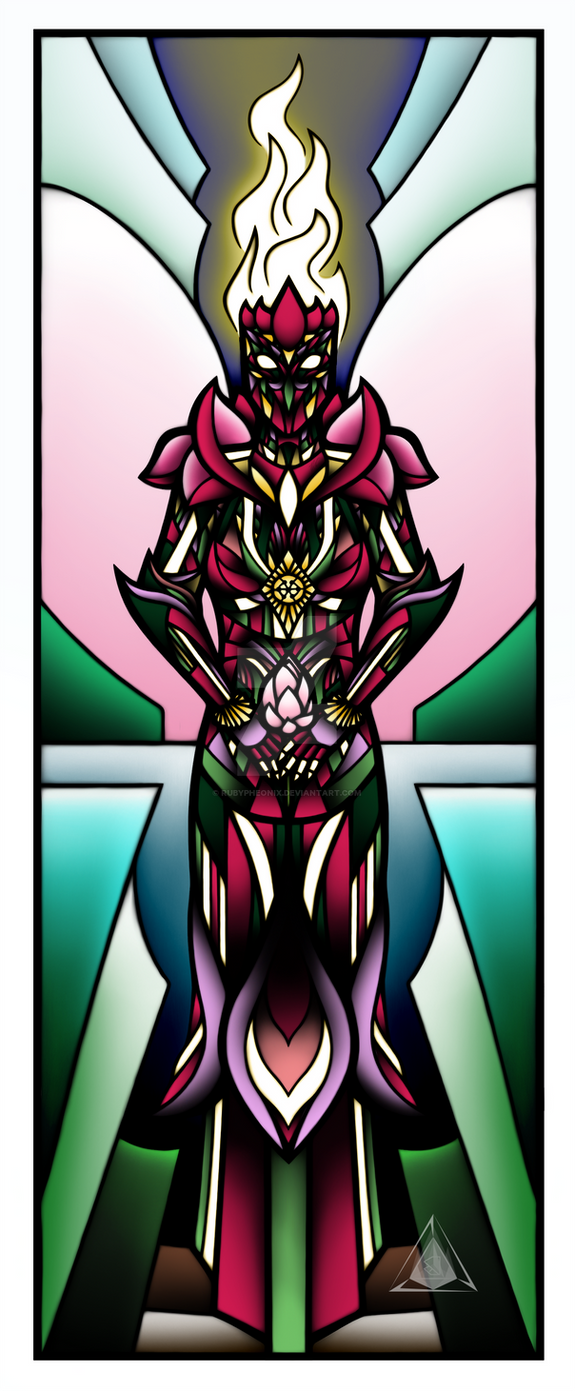 Lotus Goddess by RubyPheonix