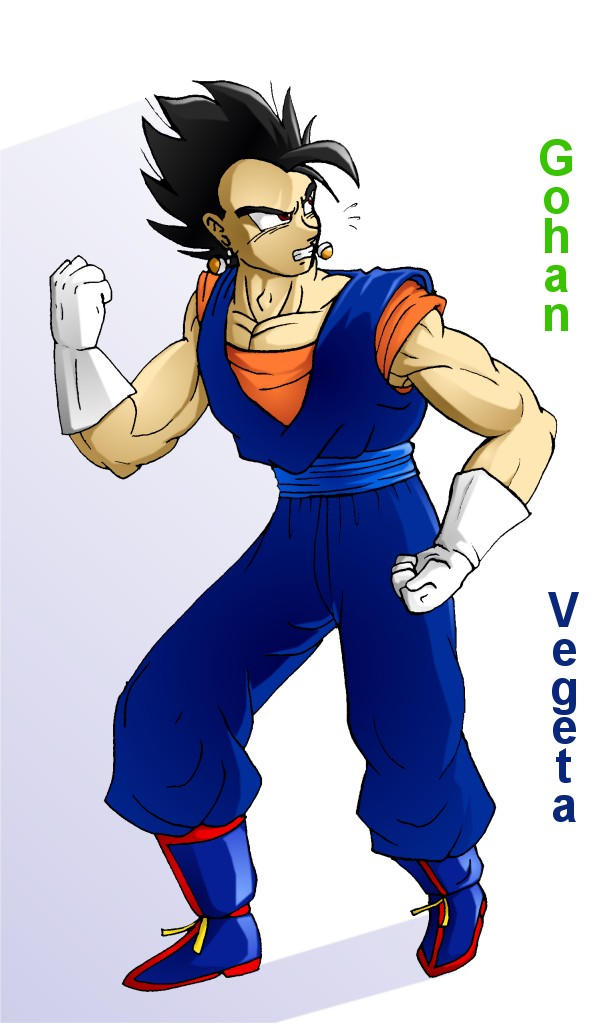 End Game 22-Who's That Fusion by Fusions on DeviantArt Gohan And Vegeta Fusion