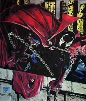 Spawn number 5 Cover Copy